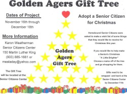 Golden Agers Christmas Tree