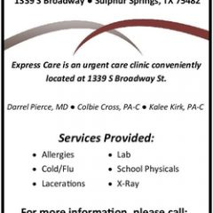 Express Care Open House Monday, Opens Tuesday