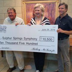 Symphony League Receives GSC Enterprises, Inc. Support for Independence Day Concert