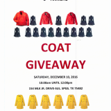 3rd Annual Coat Giveaway Saturday
