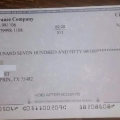 Phoney Check Scam Making the Rounds