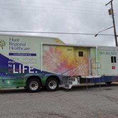 Mobile Mammography Coach Visits Sulphur Springs