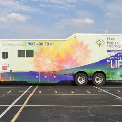 Hunt County Regional's Mobile Mammography Coach is Visiting Sulphur Springs!
