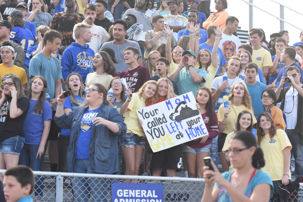 Football Student Section Crowd 9-8-17 28