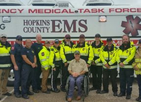 Hopkins County EMS Named Lights of Life Campaign Honorees
