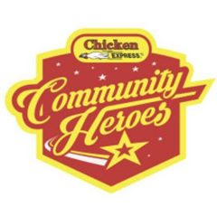 Cumby's Ashley Haygood Named 'Community Hero' by Chicken Express