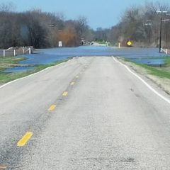 Road Closed Due to Flooding