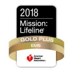 Hopkins County EMS receives American Heart Association's  Mission: Lifeline EMS Gold Plus Recognition Award