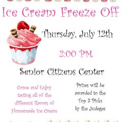 2018 Senior Ice Cream Freeze Off: Sign Up Today!