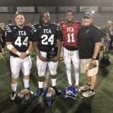 Three Wildcats Excel in Northeast Texas Fellowship of Christian Athletes All-Star Football Game