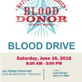 """Battle of the Badges"" Blood Drive This Saturday in SS"