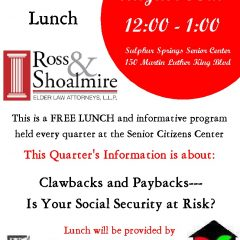 """Law School Lunch"" Free lunch and Information Session: Coming Soon"