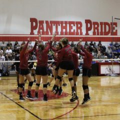 North Hopkins Lady Panthers Compete at Commerce Volleyball Tournament