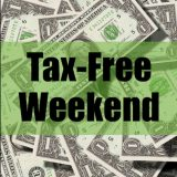Tax Free Weekend Begins Friday, August 9th