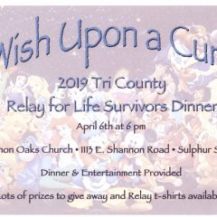 Tri County RFL Gearing Up For Annual Cancer Survivors Dinner This Saturday