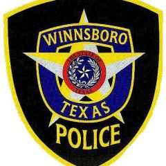 Winnsboro Police Department Report for July 8-14, 2019