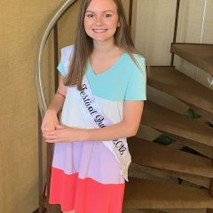 A Farewell Visit from 2018 Dairy Festival Queen Kaitlyn Ferrell