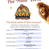 Peerless Baptist Church VBS Starts Monday, June 17th