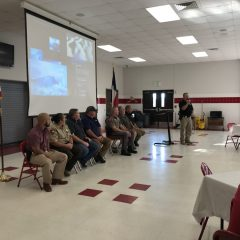 North Hopkins ISD Holds Inauguration Breakfast For Campus Police Department