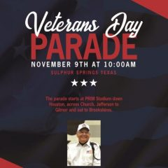 Veterans To Be Honored With Nov. 9 Parade, Honor Flight Send-Off On Oct. 31