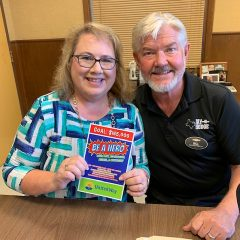 Hopkins County United Way Has a Pair of Chairs for the 2019 'Be a Hero' Campaign