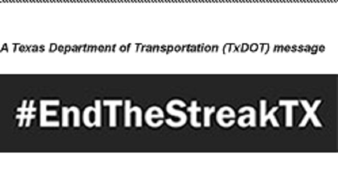 TXDOT Message