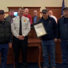 Dike VFD Recognized For 34 Years Of Service