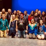 SSMS One Act Play Cast Wins 2nd Place Honors