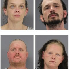 Burglary Investigation Results In Location of Stolen Vehicles and Weapons, Tools, Methamphetamine; 5 Arrests
