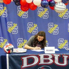 Lady Cats Senior Volleyball Player Sadie Washburn Signs Letter To Play At Dallas Baptist
