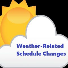 Delays, Cancellations, Closings Schedule Changes Feb. 11-12 Due To Weather