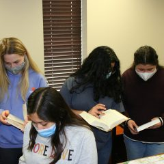 History Class Study at the PJC-Sulphur Springs Campus