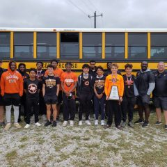 7 Commerce Tigers Qualify for Regional Meet at Area Meet Held This Week