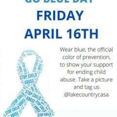 Go Blue Day – April 16th, 2021